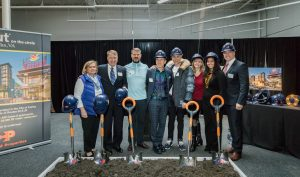 Groundbreaking of Scout on the circle at Fairfax Circle Plaza