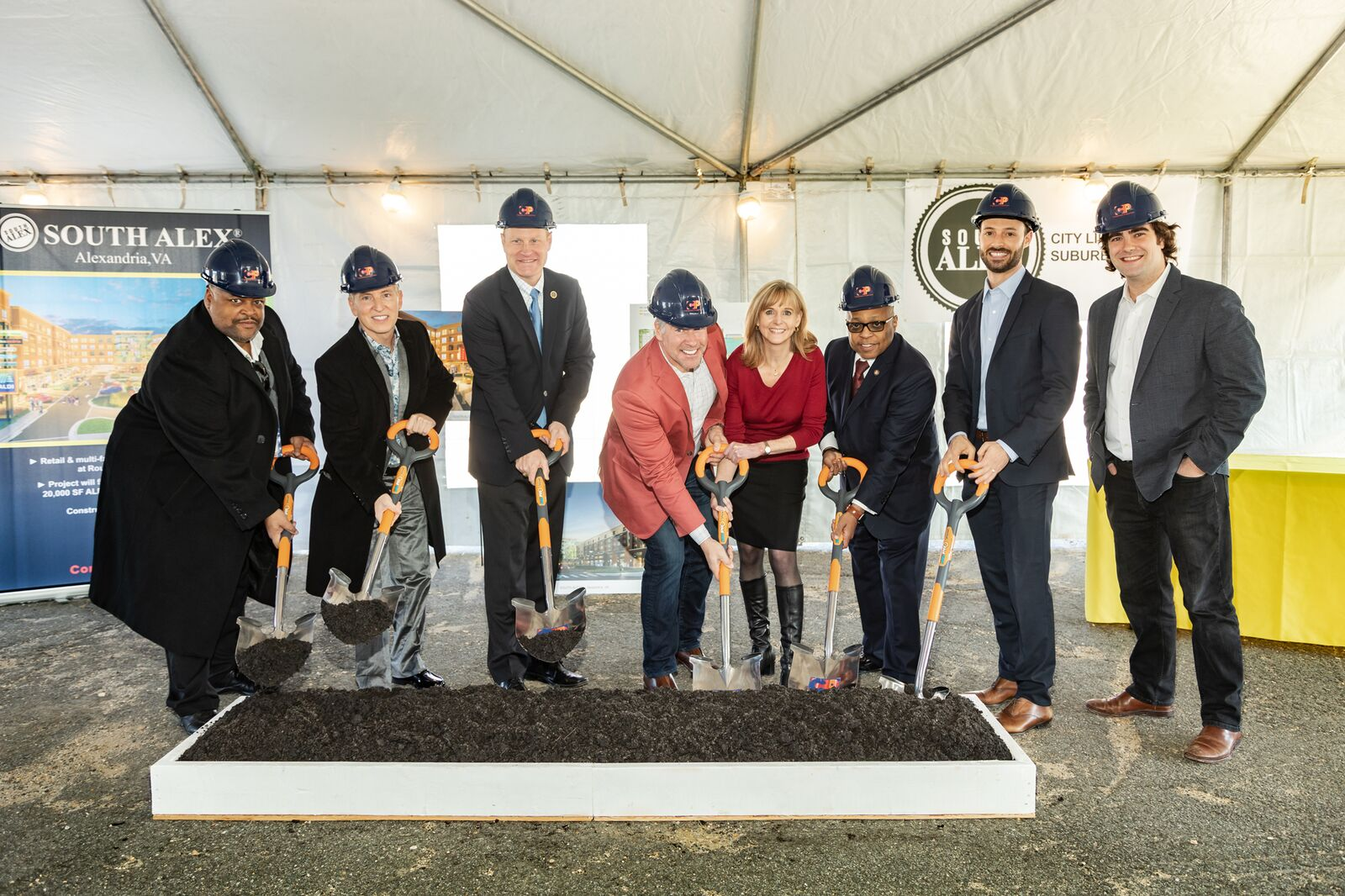 Groundbreaking of South Alex